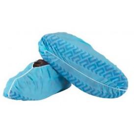 Ochraniacze na buty TST Antypoślizgowa Niebieski (100 Sztuk)