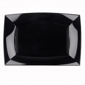 Tacki Plastikowe Czarni Nice PP 345x230mm (60 Sztuk)