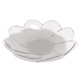 """Tasting Plastic Plate PS """"Margarita"""" Clear 30ml (25 Units)"""