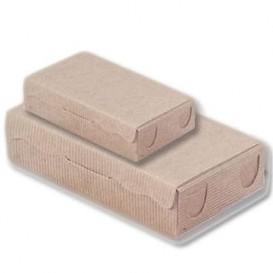Pudełka na Czekoladki i Cukierki Kraft 20x13x5,5cm 1000g (100 Sztuk)