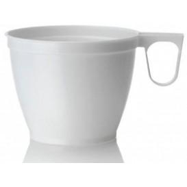 Filiżanki Plastikowe Białe 180ml (50 Sztuk)