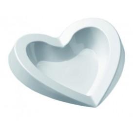 "Tasting Plastic Plate PS ""Free"" White 15ml (50 Units)"