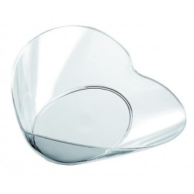"Tasting Plastic Bowl PS ""Lovers"" Clear 30ml (500 Units)"
