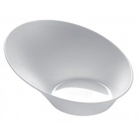 "Tasting Plastic Bowl PS ""Sodo"" White 50 ml (500 Units)"
