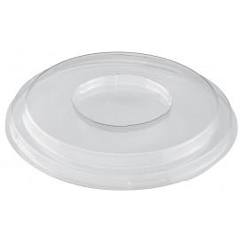 Plastic Lid for Tasting Bowl PS Medium Size Dessert Clear PET 250ml (168 Units)