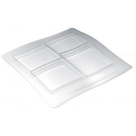 Tacki Plastikowe FoodPoker 4C 360x360 mm (1 Sztuk)