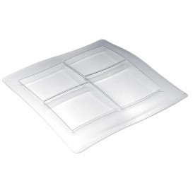 Tacki Plastikowe FoodPoker 4C 360x360 mm (12 Sztuk)