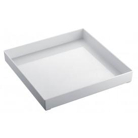 Tacki Plastikowe Tray Białe 30x30cm (9 Sztuk)