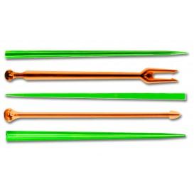 Pick Plastikowe Snack Stick Wielokolorowy 90 mm (6600 Sztuk)