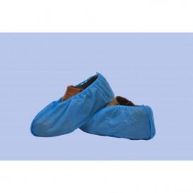 Ochraniacze na buty Polipropylen Niebieski (100 Sztuk)