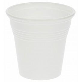 Kubki Plastikowe PS Białe 80 ml (50 Sztuk)