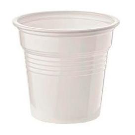 Vaso de Plastico PS Blanco 80ml Ø5,7cm (4800 Uds)