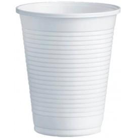 Kubki Plastikowe PS Białe 200ml Ø7,0cm (100 Sztuk)