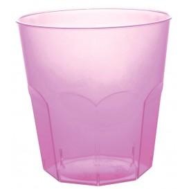 Vaso Plastico Lila Transp. PS Ø73mm 220ml (50 Uds)