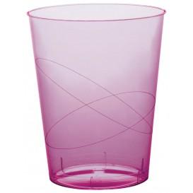 Vaso de Plastico Moon Lila Transp. PS 350ml (20 Uds)