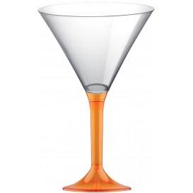 Kieliszki Plastikowe Koktajl na Podstawie Orange Przezroczyste 185ml 2P (20 Sztuk)