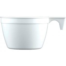 Filiżanki Plastikowe PP Cup Białe 190ml (25 Sztuk)