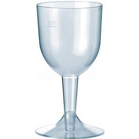 Kieliszki Plastikowe Premium Woda i Wino 140ml 2P (20 Sztuk)