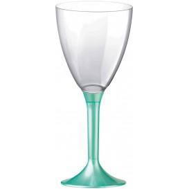 Kieliszki Plastikowe Wino na Podstawie Tiffani Perełka 180ml 2P (20 Sztuk)
