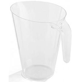 Dzbanek Plastikowy Przezroczyste Wielokrotnego Użytku 1.500 ml (20 Sztuk)