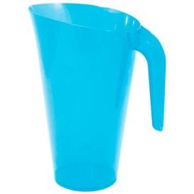 Dzbanek Plastikowy Turkusowe Wielokrotnego Użytku 1.500 ml (1 Sztuk)