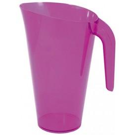 Dzbanek Plastikowy Bakłażan Wielokrotnego Użytku 1.500 ml (20 Sztuk)