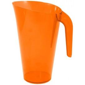 Dzbanek Plastikowy Orange Wielokrotnego Użytku 1.500 ml (20 Sztuk)