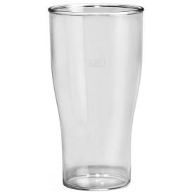 Kubki Wielokrotnego Użytku SAN Piwa Przezroczyste 350ml (100 Sztuk)