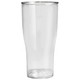Kubki Wielokrotnego Użytku SAN Piwa Przezroczyste 400ml (5 Sztuk)