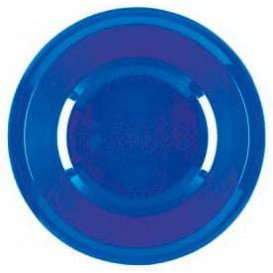 Talerz Plastikowe Głębokie Niebieski Mediterraneo Round PP Ø195mm (600 Sztuk)