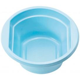 Miski Plastikowe PS Niebieski Światło 250ml Ø12cm (30 Sztuk)