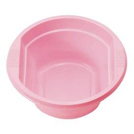 Miski Plastikowe PS Różowe 250ml Ø12cm (660 Sztuk)