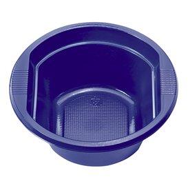 Miski Plastikowe PS Niebieski Ciemny 250 ml Ø12cm (30 Sztuk)