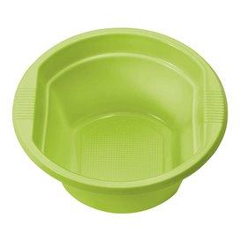 Miski Plastikowe PS Zielony Limonka 250ml Ø12cm (660 Sztuk)