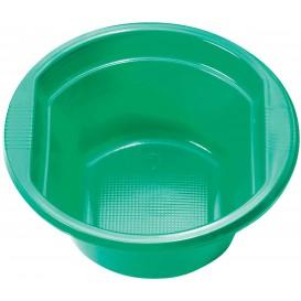 Miski Plastikowe PS Zielone 250ml Ø12cm (30 Sztuk)
