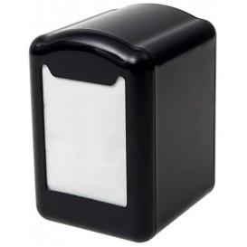 Dyspenser do Serwetek Plastikowe Czarni Mini Serwis 17x17 (12 Sztuk)