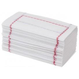 Serwetki Papierowe 14x14 Zigzag Czerwerne i Niebieski (250 Sztuk)