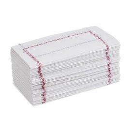 Serwetki Papierowe 14x14 Zigzag Niebieski (250 Sztuk)