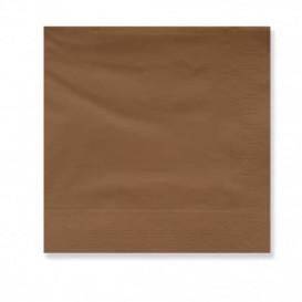 Serwetki Papierowe Ozdobne 30x30cm Brązowe 2 Warstwy (4500 Sztuk)