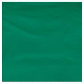 Serwetki Papierowe Ozdobne 25x25cm 2C Zielone (3400 Sztuk)
