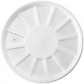 Pokrywka do Isotérmica Wentylowana Białe Ø11,7cm (50 Sztuk)