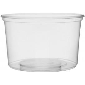 Miski Plastikowe Przezroczyste 300ml Ø10,5cm (100 Sztuk)