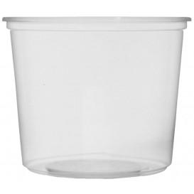 Miski Plastikowe Przezroczyste 400ml Ø10,5cm (100 Sztuk)