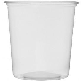 Miski Plastikowe Przezroczyste 500ml Ø10,5cm (100 Sztuk)