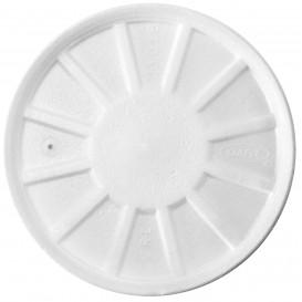 Pokrywka do Isotérmica Wentylowana Białe Ø11cm (50 Sztuk)