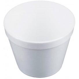 Miski Termiczni Styropianowe Białe 24Oz/710ml Ø12,7cm (25 Sztuk)
