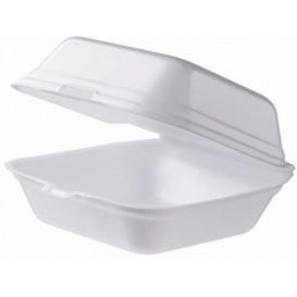 Pudełka na Burgeri Styropianowe Małe Białe (125 Sztuk)