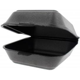 Pudełka na Burgeri Styropianowe Duży Czarni (125 Sztuk)