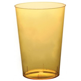 Vaso de Plastico Moon Amarillo Transp. PS 230ml (1000 Uds)