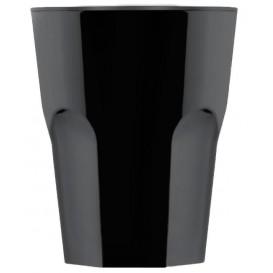 Kubki Wielokrotnego Użytku SAN Rox Czarni 300ml (8 Sztuk)